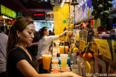 streetfood, fresh juice, fruit local, market, Singapore