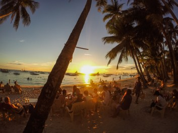 Boracay, sunset, beach, travel, philippines,