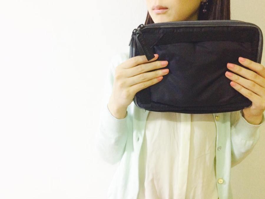 軽くて機能的でおしゃれ!タテヨコ自在なバッグインバッグ「トガクレ」