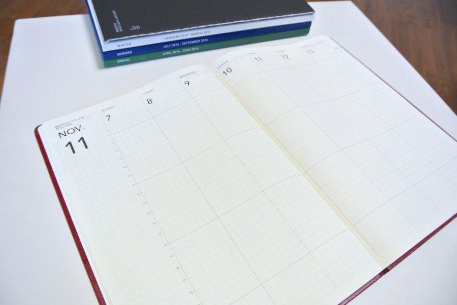 1日1ページ手帳の弱点を解決!軽くて予定管理もバッチリの「JIYU-Style U-Line」