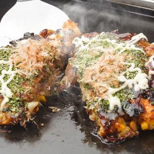 Japanese cusine Okonomiyaki