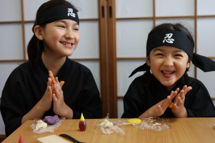 Kyoto with kids cooking