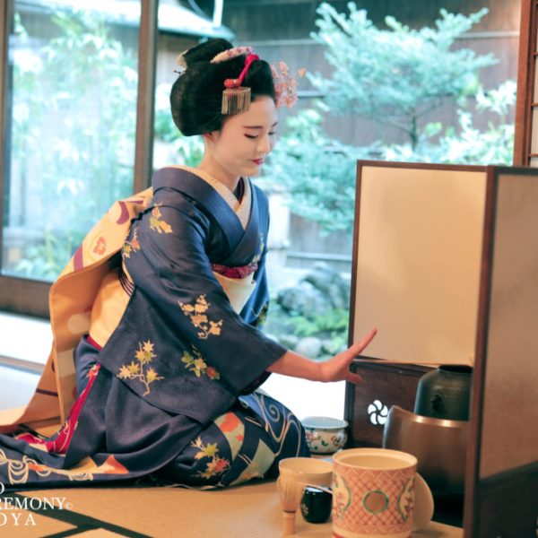 Geisha Maiko Tea ceremony