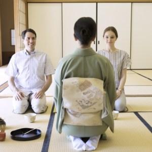 casual tea ceremony