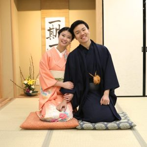 Kimono & Self Photo Shooting in a Heritage House of Osaka