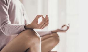 Zen meditation in kyoto