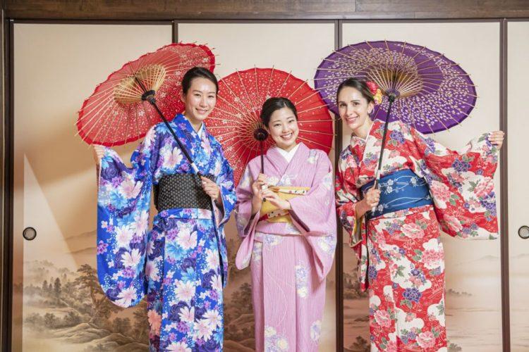 Kimono self photo