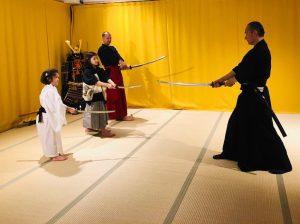 samurai lesson kyoto