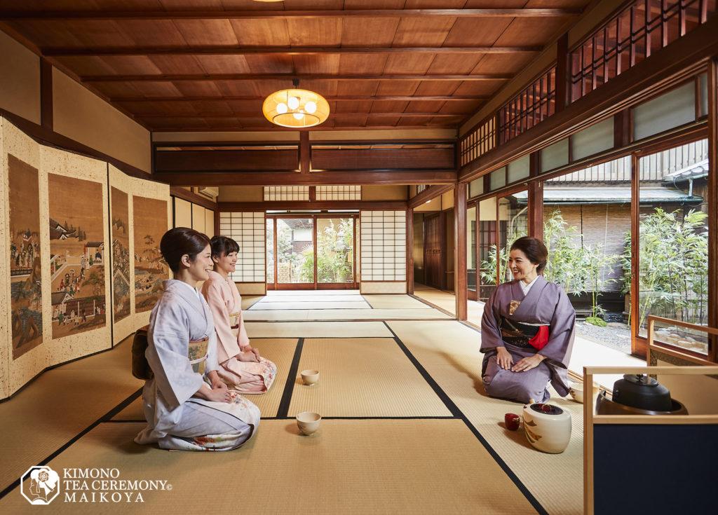 tea ceremony and kimono experience in kyoto gion
