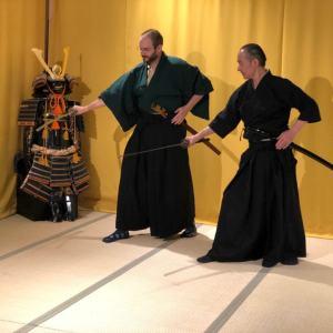 samurai sword lesson kyoto