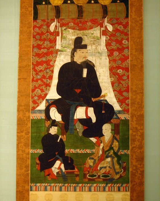 The Japanese imperial family and the Fujiwara clan ruled the country