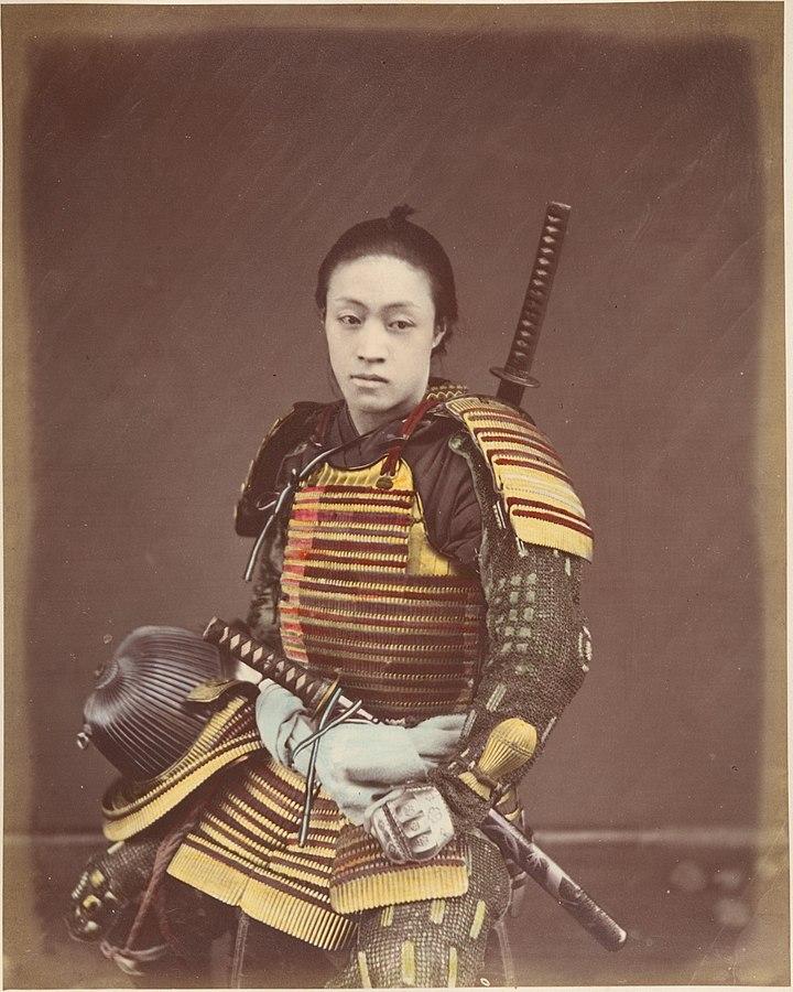 Actor in Samurai Armor MET
