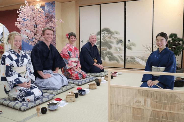 Kyoto Tea Ceremony Maikoya