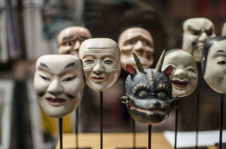 Kabuki masker