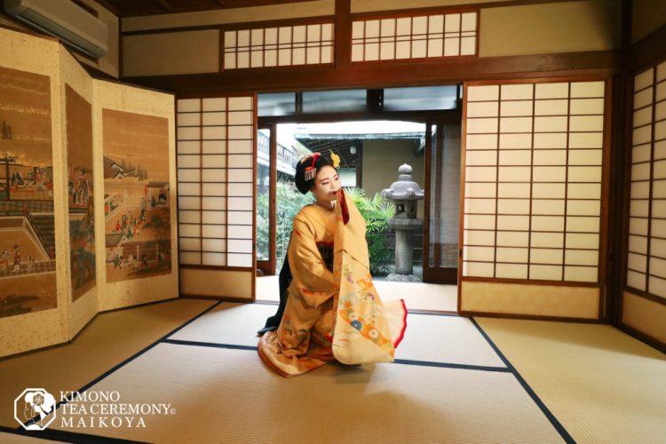 maiko dance geisha gion
