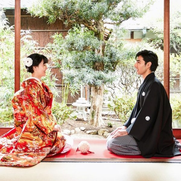Wedding photo in Kyoto
