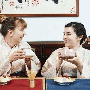 sweets making wagashi tea ceremony