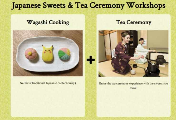Maiko Cooking and Sweet Making