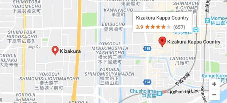Kizakura Map