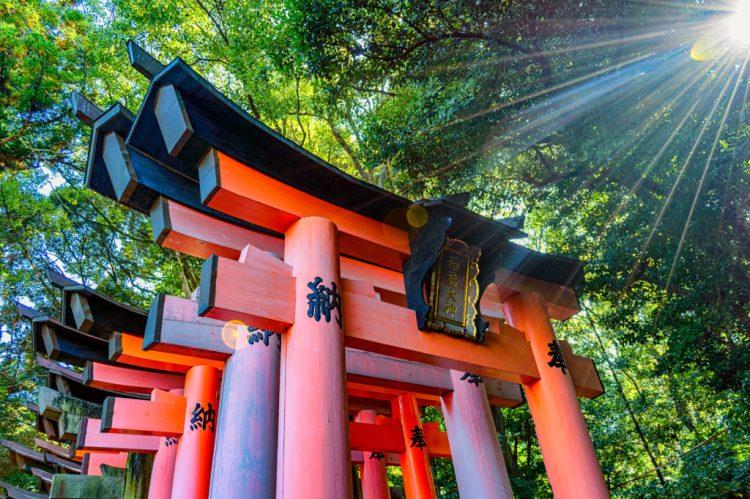 Shinto shrine of Fushimi Inari