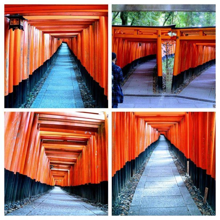 Fushimi Inari Taisha Shrine 1000 Torii Gates
