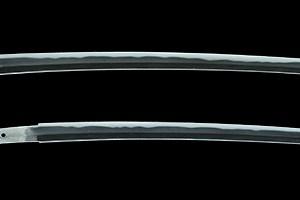 (Enshu Sumi Isobe Consistent Sai Mitsuhiro, Mr. Nobujiro Harada, August Yoshiday, Showa Chomi Enshu ju Isobe Ikkansai Mitsuhiro) Authentic Samurai Sword - 776