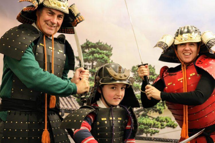 samurai family photo