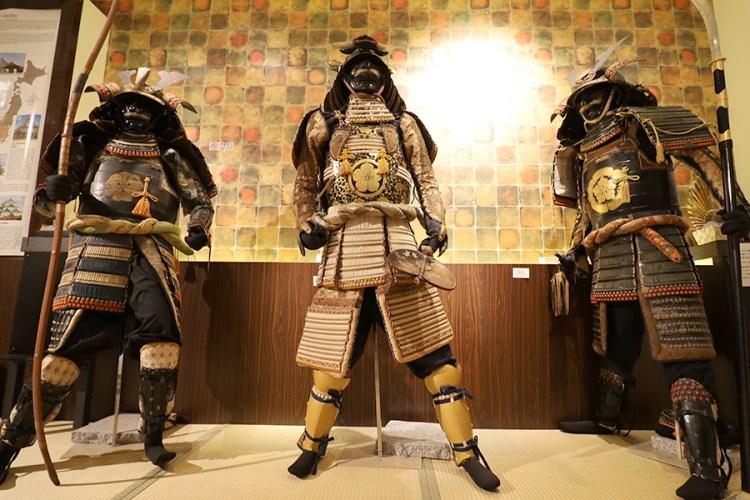 samurai armor exhibits