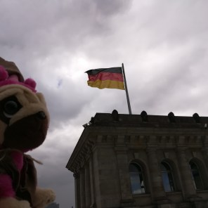 on top of the Reichstag building after the award ceremony