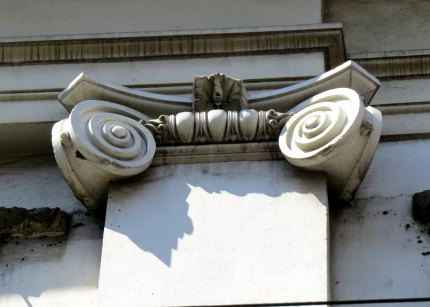 Some details on the building