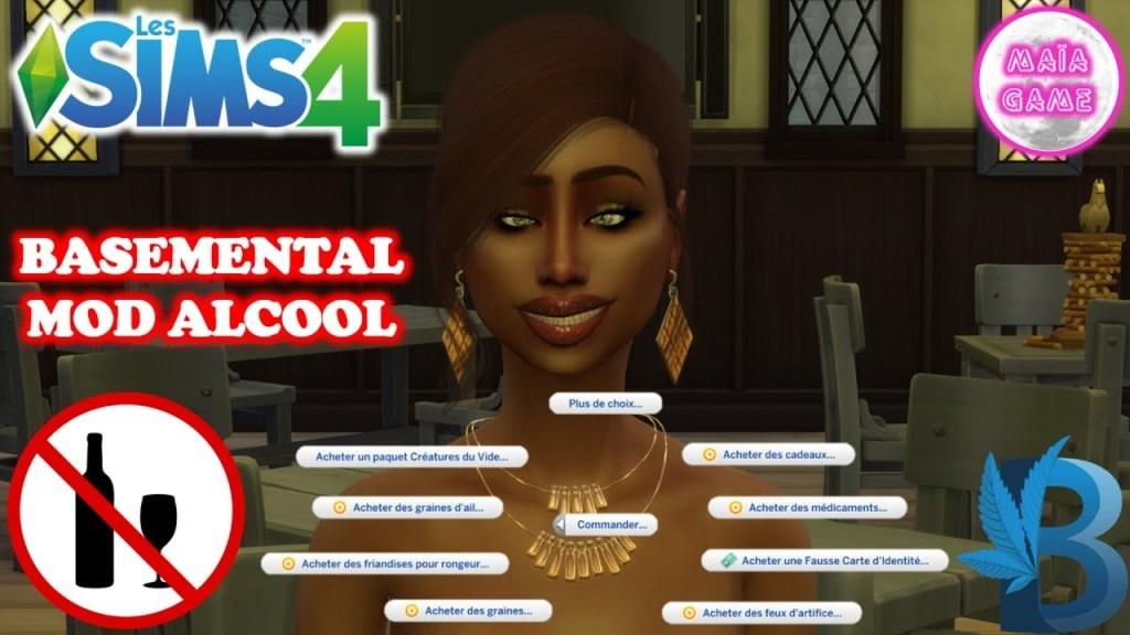 Mod Alcool Sims 4