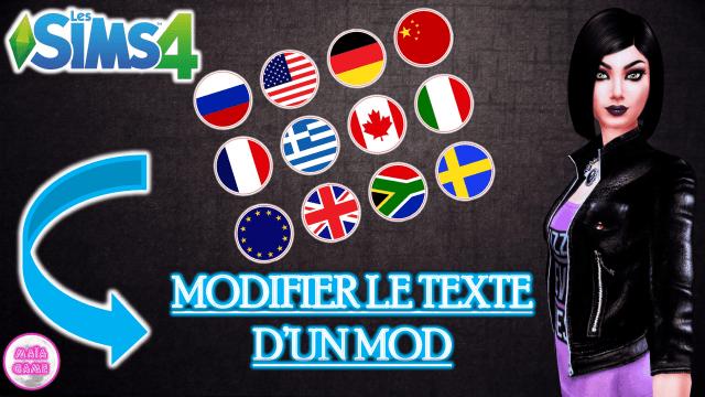 Tutoriel Modifier le Texte d'un Mod avec S4PE