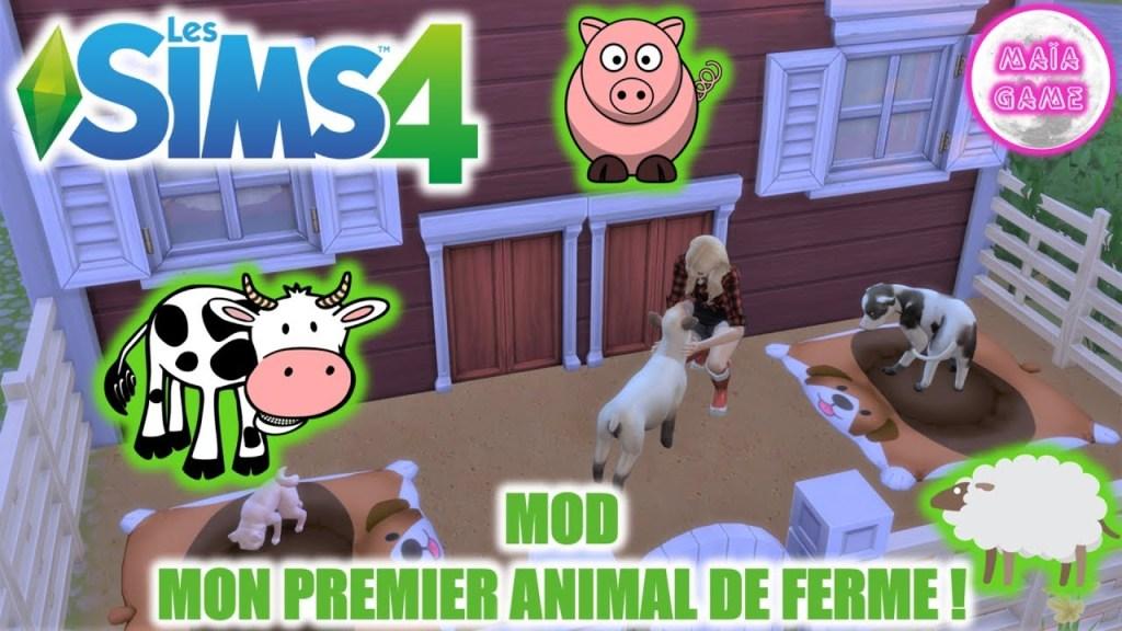 Mod Premier animal de ferme KawaiiStacie Sims 4
