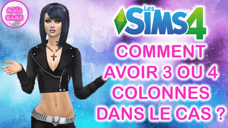 More Colums Sims 4