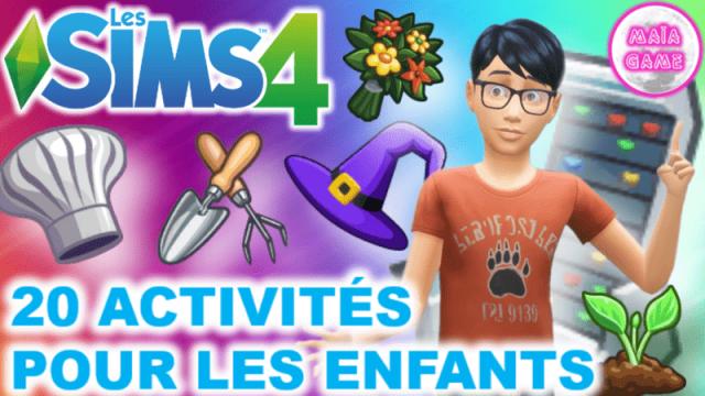 20 Activités pour les enfants by Zulf Ferdiana !