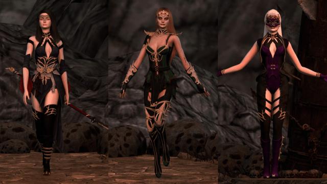 Tenues de Mortal Combat dans les Sims 4 !