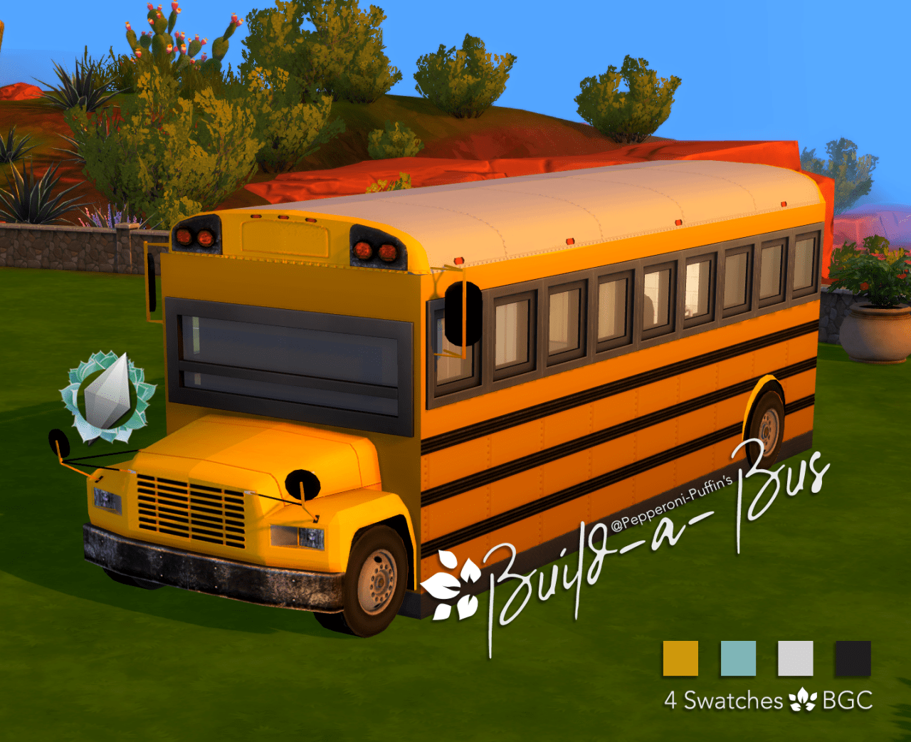 Vivre dans un bus scolaire !