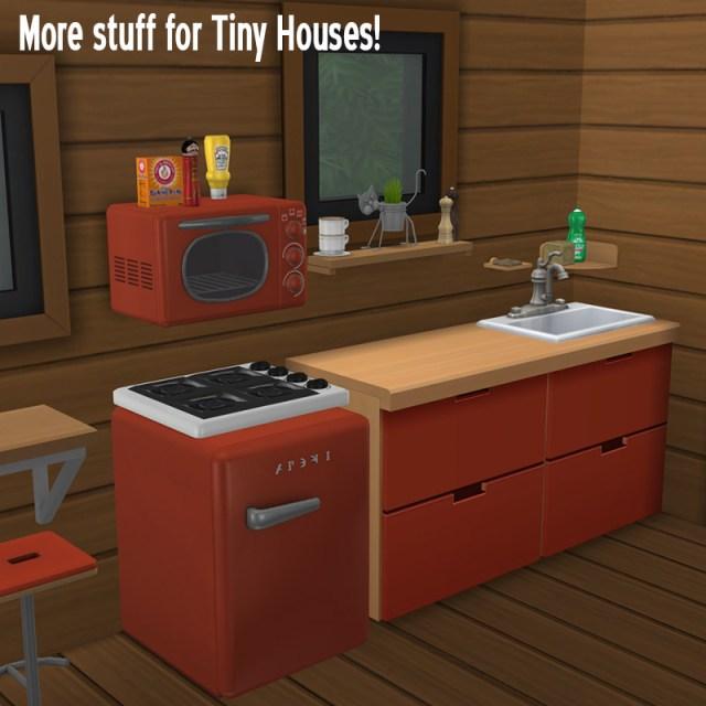 ATS4 : Kitchenette pour petites maisons