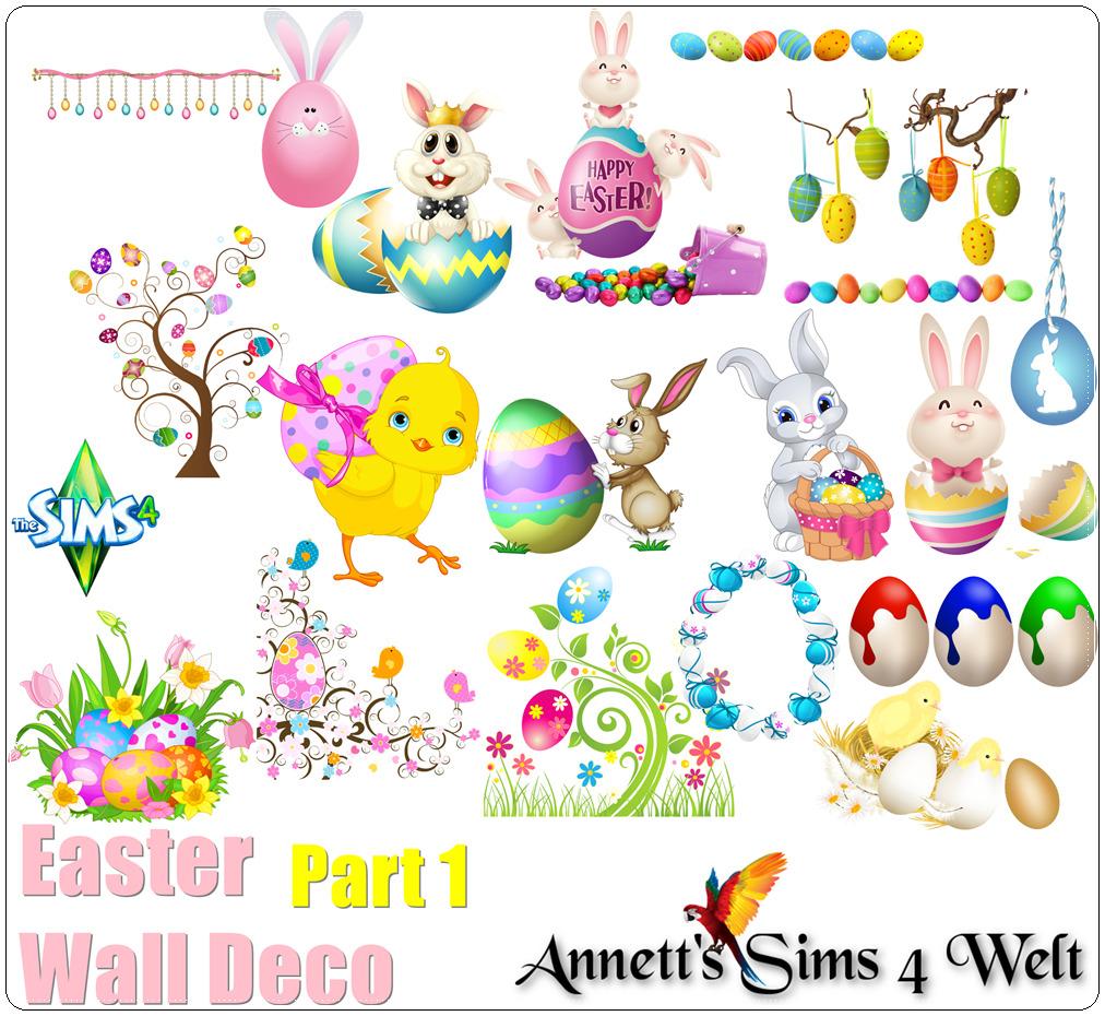 Stickers pour Pâques !