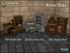 SrslyMedieval : Objets époque médiévale !