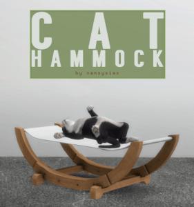 Hamac pour chat !