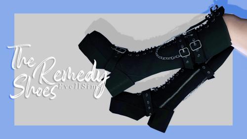 EvellSims : bottes Gothiques !
