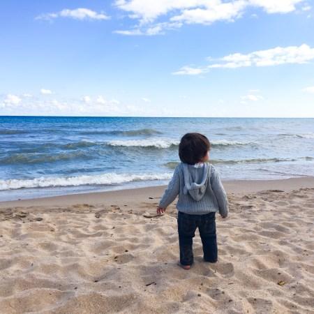Taking kids to Bradford Beach   Maia Nolan-Partnow