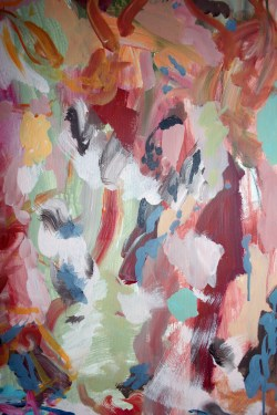 detail of MEIRA I, acrylic on canvas, 150 x 150 cm, 2015