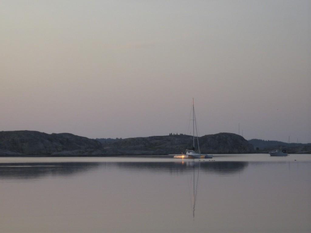 Mouillages à Musön et Otterön