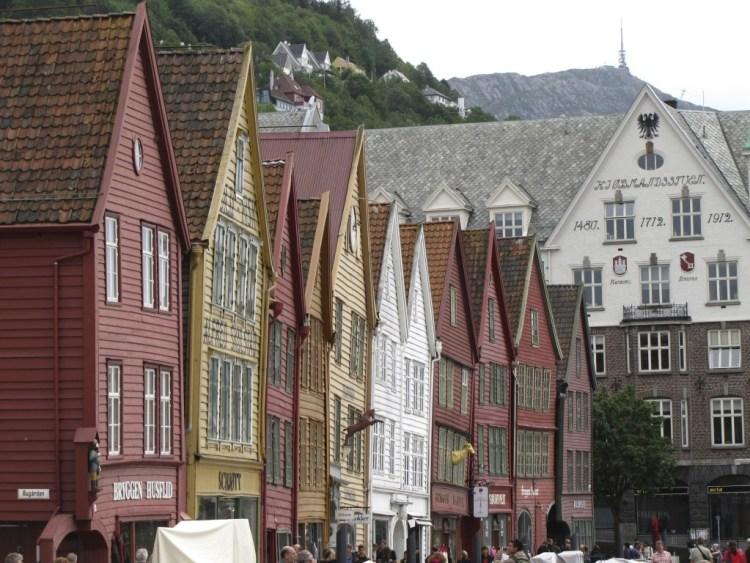 Maisons de l'époque Hansa, Bergen