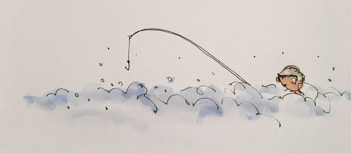 Mousse = pêche ratée