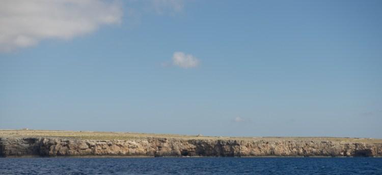 La côte nord de Minorque