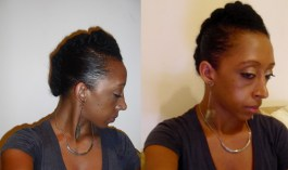 Same look wit tighter twists