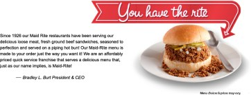 Image result for maid rite sandwich